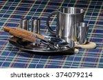 stainless steel tableware....