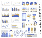 set of infographic elements.... | Shutterstock . vector #374102518