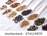 Assortment Of Dry Tea In...