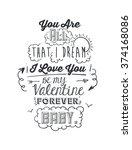 love card design  | Shutterstock .eps vector #374168086