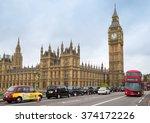 london   november 8  view of...   Shutterstock . vector #374172226
