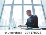 busy typing | Shutterstock . vector #374178028