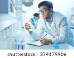 scientist working | Shutterstock . vector #374179906