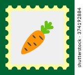 carrot icon | Shutterstock .eps vector #374192884