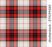textured tartan plaid | Shutterstock .eps vector #374194360
