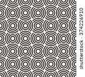 vector seamless pattern. modern ... | Shutterstock .eps vector #374226910