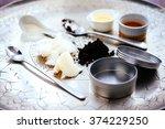 handmade cosmetic ingredients   ... | Shutterstock . vector #374229250
