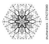 hexagonal  motif.  | Shutterstock .eps vector #374273080
