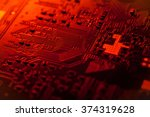Circuit Board Of Tablet Pc...