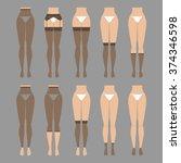 vector illustration. hosiery... | Shutterstock .eps vector #374346598