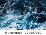 Waves In Ocean Splashing Waves