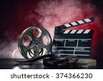 Постер, плакат: Retro film production accessories