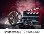 retro film production... | Shutterstock . vector #374366230