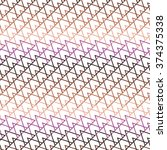 seamless pattern from triangle... | Shutterstock .eps vector #374375338