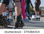 rollers | Shutterstock . vector #374386414