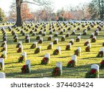 Soldier Tombs In Arlington...