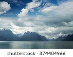 natural landscape at... | Shutterstock . vector #374404966
