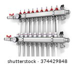collector  manifold  heating... | Shutterstock . vector #374429848