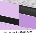 abstract geometric rectangles... | Shutterstock .eps vector #374436679