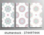 set vintage universal different ...   Shutterstock .eps vector #374497444