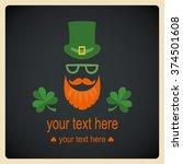 saint patrick's day  character... | Shutterstock .eps vector #374501608
