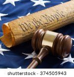 Gavel  Constitution Of The...