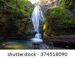 susan creek falls in the umpqua ... | Shutterstock . vector #374518090