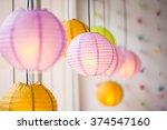 chinese lanterns | Shutterstock . vector #374547160