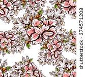 abstract elegance seamless... | Shutterstock .eps vector #374571208