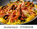 Gourmet Seafood Valencia Paell...