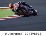 Small photo of Misano Adriatico, Italy - June 20, 2015: Aprilia RSV4 RF of Nuova M2 Racing Team, driven by CALIA Kevin in action during the Superstock 1000 Free Practice 3 during the FIM Superstock 1000 -