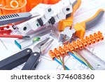 components for use in... | Shutterstock . vector #374608360