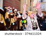 cadiz  spain   february 8 ... | Shutterstock . vector #374611324