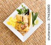 pad thai | Shutterstock . vector #374636800