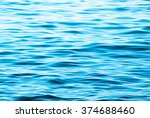 Blue Sea Water Background