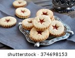 Linzer Cookies With Marmelade...