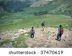 Mountain Summit Hikers Summer....