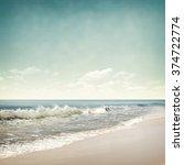 nature tropic background in... | Shutterstock . vector #374722774