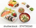 japanese cuisine | Shutterstock . vector #374750260