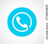 contact icon isolated on white...