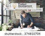 product development... | Shutterstock . vector #374810704