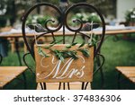 wedding. banquet. honeymoon... | Shutterstock . vector #374836306