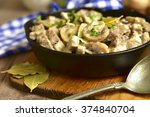 Beef Stroganoff With Mushrooms...