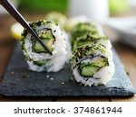 Healthy Kale And Avocado Sushi...