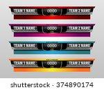 sport scoreboard template for...   Shutterstock .eps vector #374890174