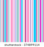 abstract art rainbow curved... | Shutterstock .eps vector #374899114