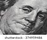 Ben Franklin Face On Us 100...