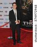 """Small photo of LOS ANGELES, CA - NOVEMBER 4, 2013: James Gunn at the US premiere of """"Thor: The Dark World"""" at the El Capitan Theatre, Hollywood. Picture: Paul Smith / Featureflash"""