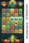 jungle shamans game user... | Shutterstock .eps vector #375020704