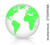 globe   Shutterstock .eps vector #375049588